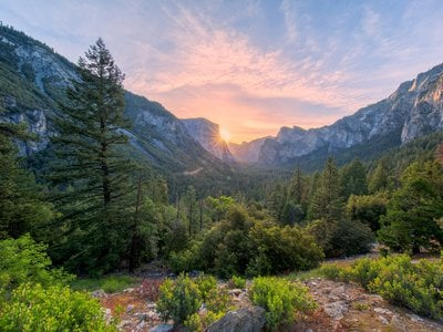 Simple times may be over for the National Parks. Shown here: El Capitan, a vertical rock formation in Yosemite National Park, California.