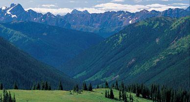 Paciofic Crest Trail