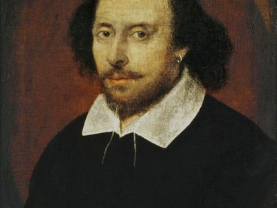 The Chandos portrait is the only-known painting of Shakespeare made during his lifetime.