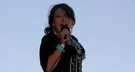 Country artist Victoria Blackie (Navajo)