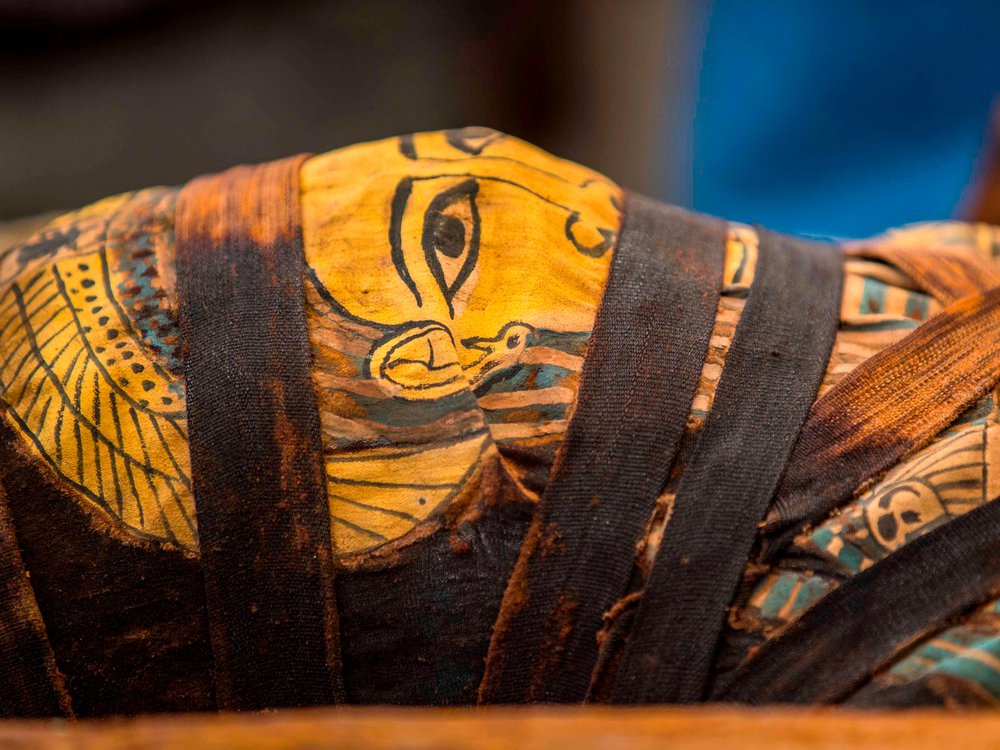 Saqqara mummy
