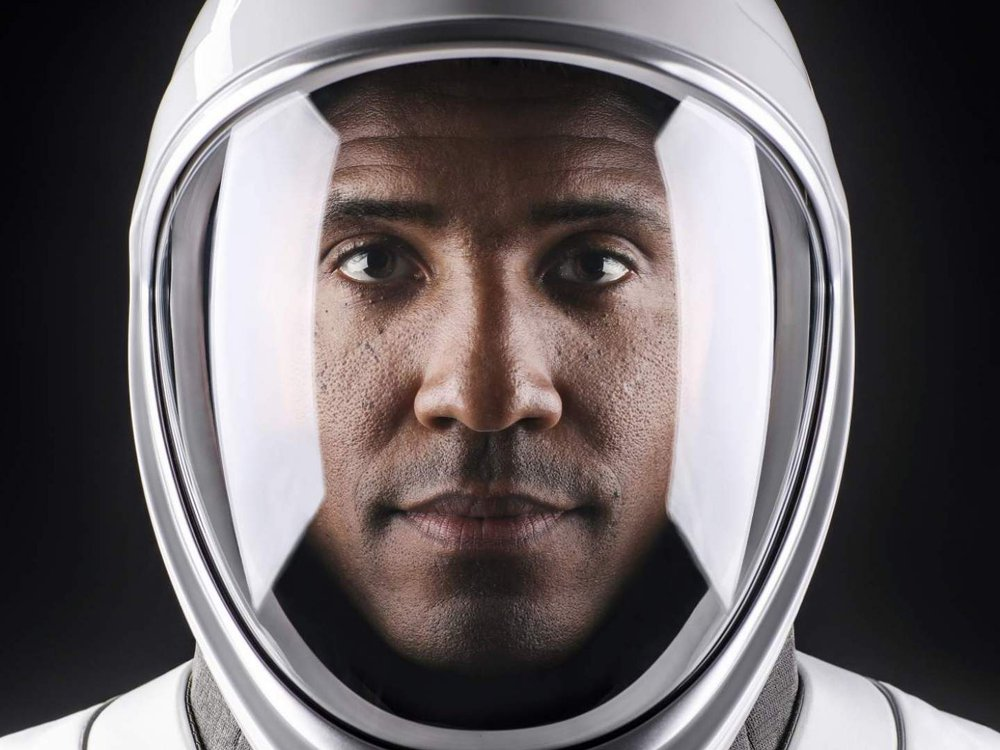 NASA astronaut and Pilot Victor Glover launched from the International Space Station on the agency's SpaceX Crew-1 mission. (SpaceX)