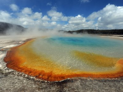 In lieu of visiting Yellowstone (pictured here) and other national parks in person, try exploring them virtually.