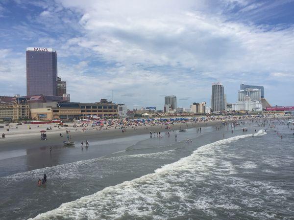 Atlantic City Beach and Boardwalk thumbnail