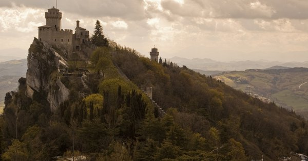Second castle in San Marino. thumbnail