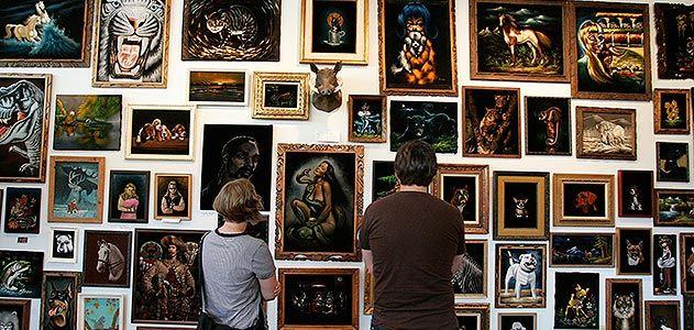 Velveteria The Museum of Velvet Paintings