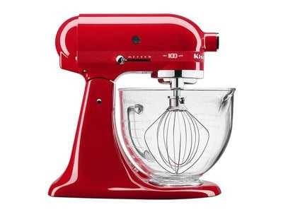 To celebrate its centennial, KitchenAid released a passion red limited edition stand mixer.