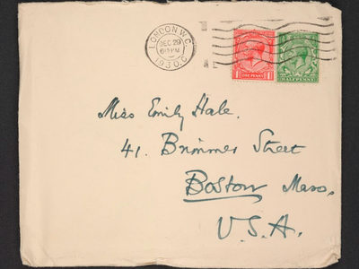 The letters were kept under wraps for 50 years.
