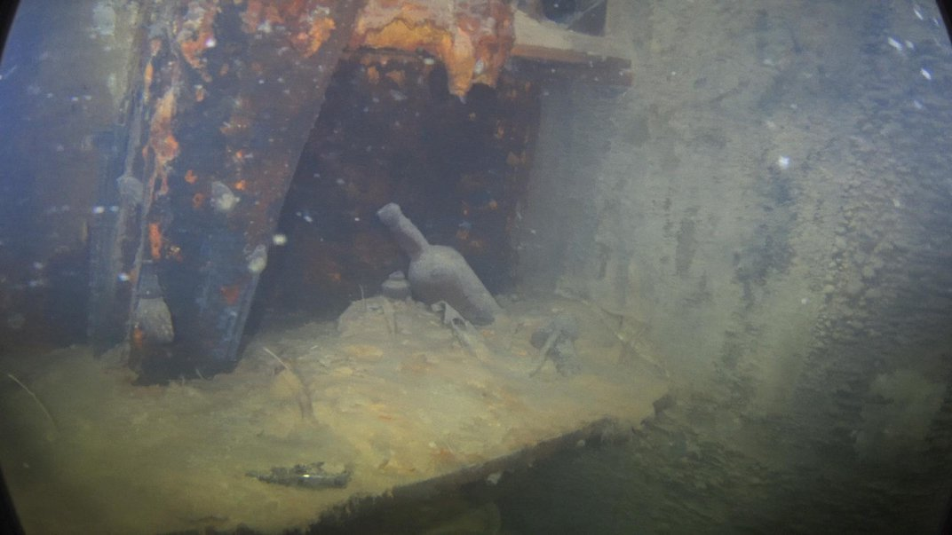 Divers Get an Eerie First Look Inside the Arctic Shipwreck of the HMS Terror