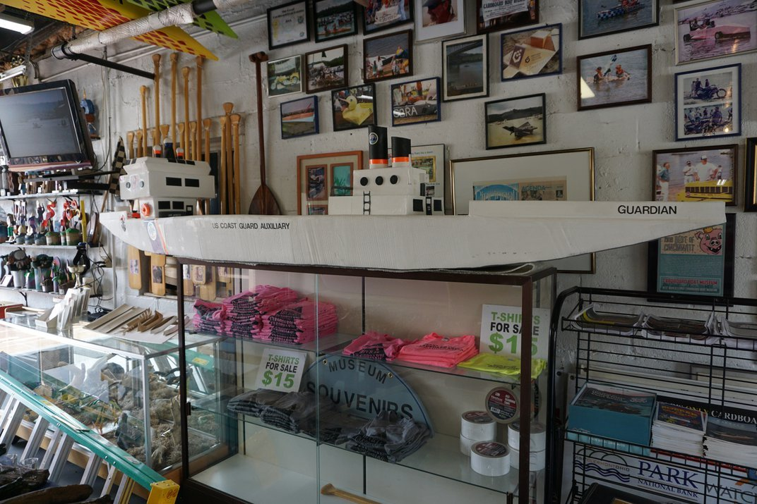 A Small Town in Ohio Is Home to the World's Only Cardboard Boat Museum