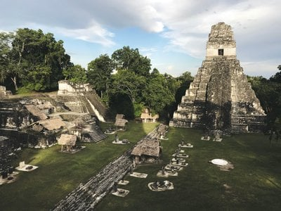 The Maya city of Tikal thrived for hundreds of years but was  abandoned in the ninth century A.D.