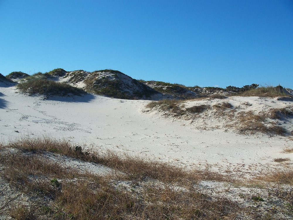 NaNa dune, named after the Beach Lady