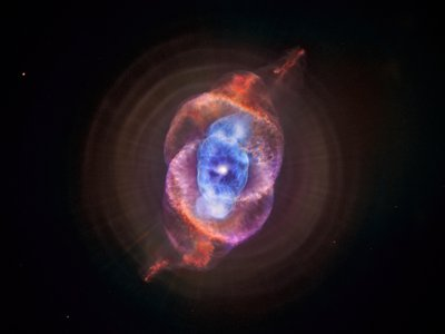Perhaps our sun will produce something as beautiful as the Cat's Eye Nebula.