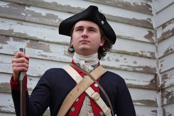 Revolutionary War Reenactor thumbnail