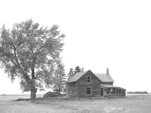 Abandoned Farm near Bowbells, North Dakota thumbnail