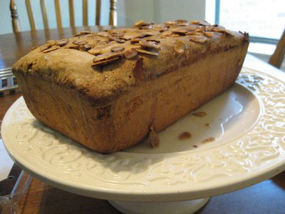 Pound cake is generally made in a loaf pan (as above) or a Bundt pan (that's the one with the hole in the middle.)