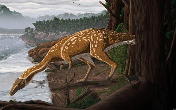 Elaphrosaur