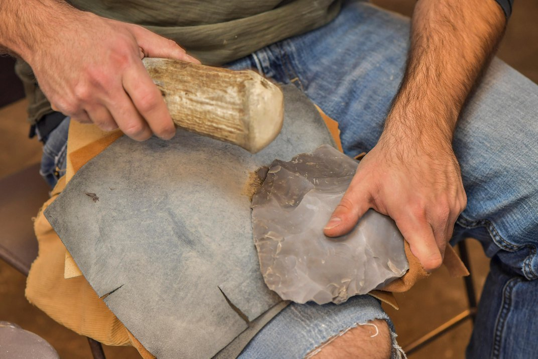 This Lab Replicates Weapons to Reveal Stone Age Feats of Engineering