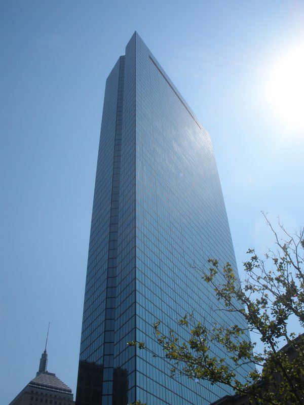 The John Hancock Building on a sunny day. thumbnail