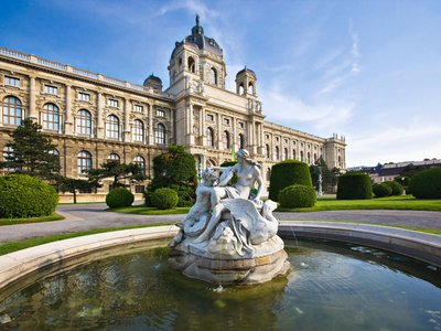 Vienna's Kunsthistorisches Museum was commissioned by a Hapsburg Emperor—and it shows.