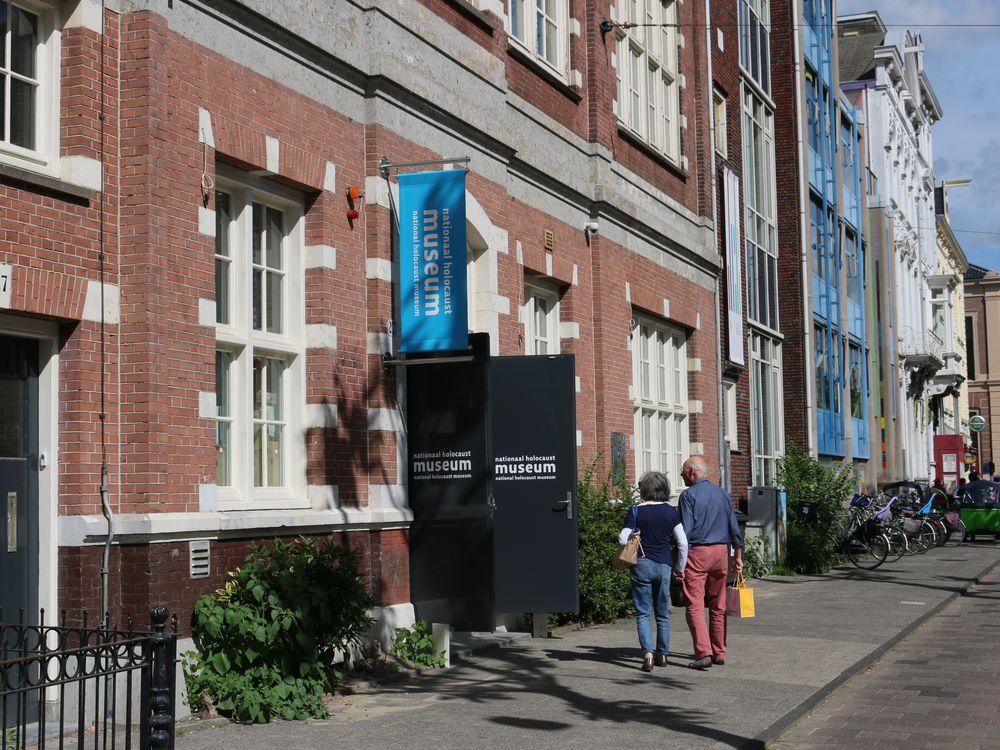 Amsterdam Holocaust museum