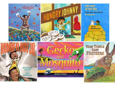 Children's books written by Native American authors or by non-Natives who have consulted with Native communities highlight the diversity of Native cultures throughout the Western Hemisphere. (All images courtesy of the publishers)