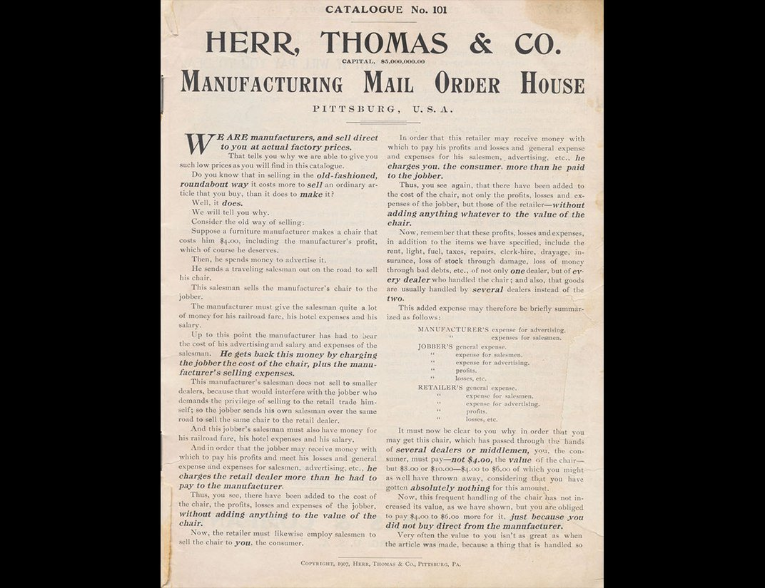 Cover of Herr, Thomas & Co.