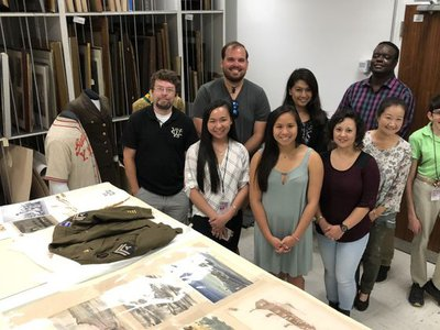 Through co-creation efforts with K-12 educators and Asian American community partners, the National Veterans Network, elementary and middle school educators, Asian Pacific American Center interns and National Museum of American History staff, learn more about the stories behind objects.