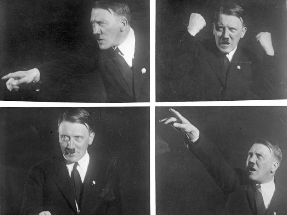 Hitler used shameless self-promotion and alternative facts to cast himself as a national hero.