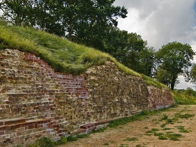 Part of the Danevirk wall surrounding Hedeby