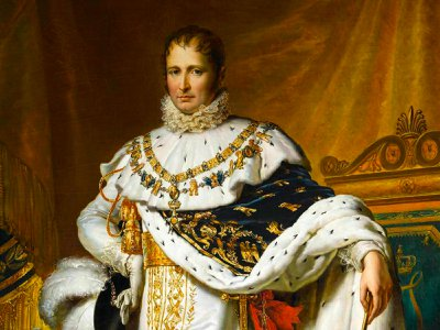 François Pascal Simon Gérard, Joseph Bonaparte as King of Spain, circa 1808