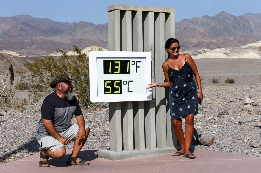 Death Valley Hits a Blistering 130 Degrees, Potentially Setting New Record