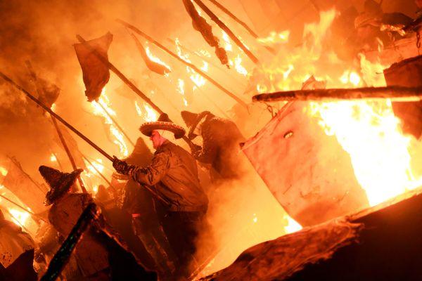 El Vítor night procession thumbnail