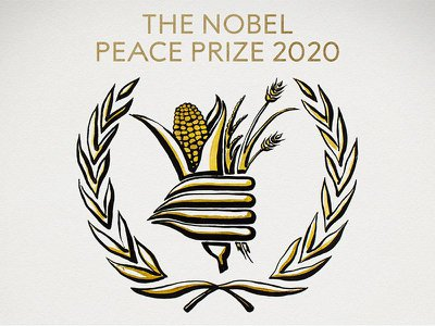 The United Nation's World Food Program claimed this year's Nobel Peace Prize.