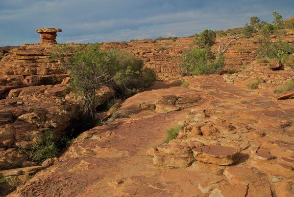Kings Canyon, Northern Territory, Australia thumbnail