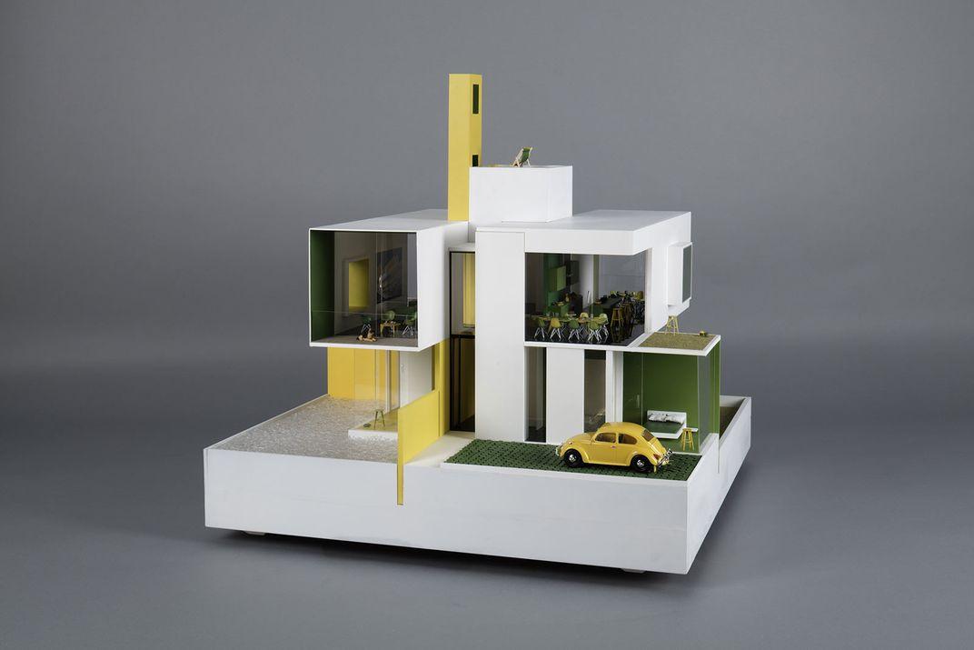 Dollhouse design by RIBA award winning architects Allford Hall Monaghan Morris