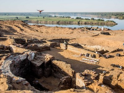 The church may be the largest ever found in Nubia.