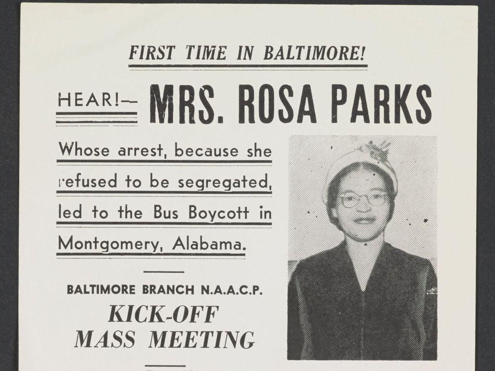 Hear Rosa Parks