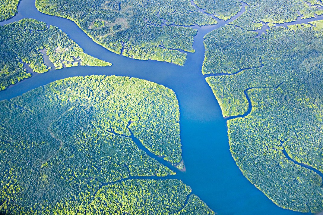 Aerial View Of The Rajang River Flowing Through The Rainforest Of Sarawak Smithsonian Photo Contest Smithsonian Magazine