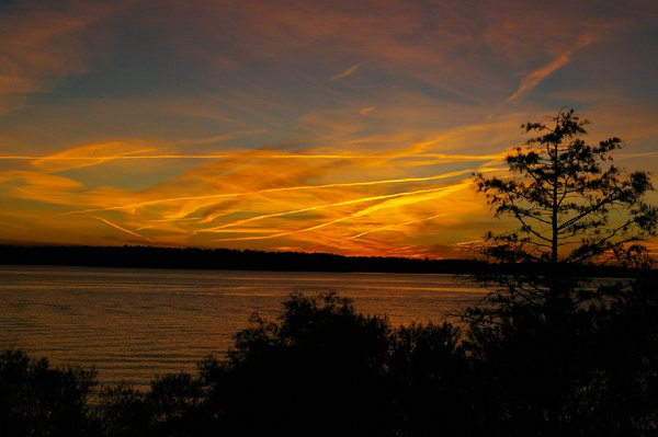 Sunset on the James River thumbnail