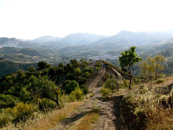 Hiking the Sierra Nevada near Granada  thumbnail