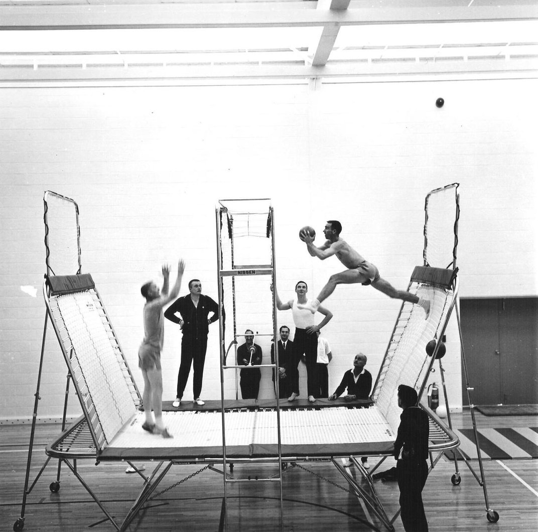 How the Trampoline Came to Be