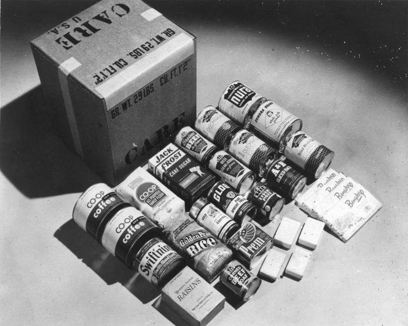 A CARE Package shipped in 1948