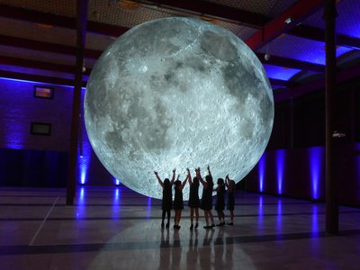 The Museum of the Moon is just one of many events taking place across the United States celebrating the 50th anniversary of landing on the moon.