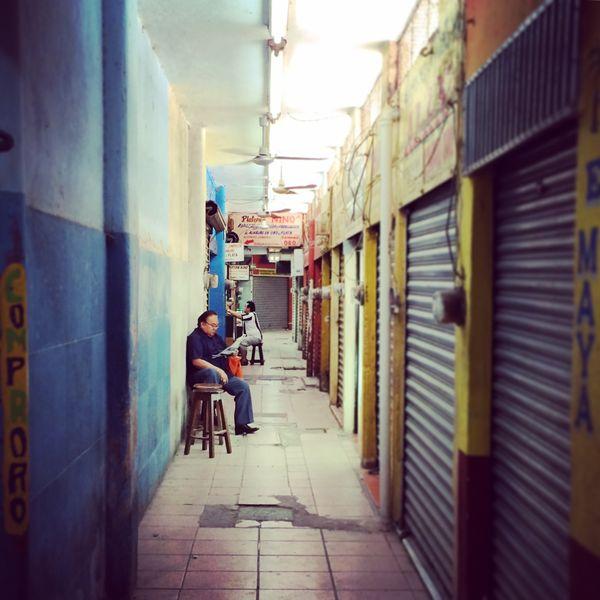 Hallway man, Merida Mexico thumbnail