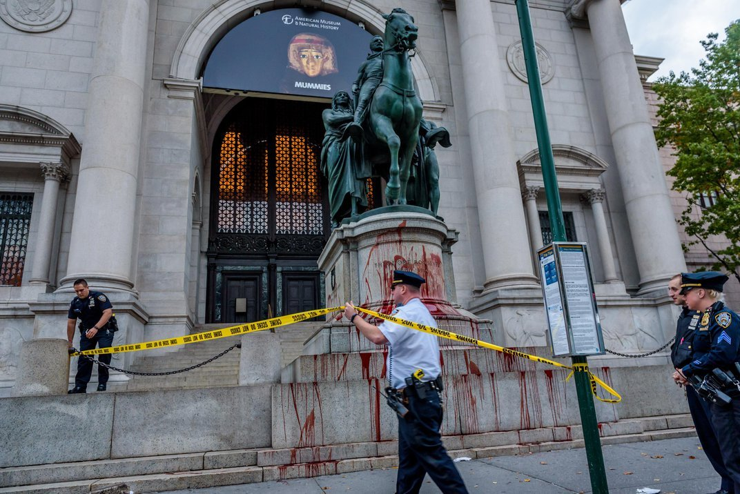 The Racist Statue of Theodore Roosevelt Will No Longer Loom Over the American Museum of Natural History