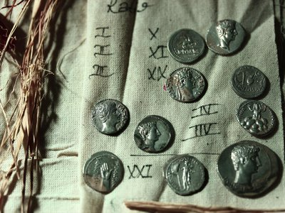 Archaeologists uncovered the coins in 2019 but only examined them recently due to the Covid-19 pandemic.