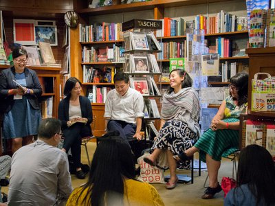 The Smithsonian's well attended Asian-American Literature Festival could soon be traveling to other cities around the nation.
