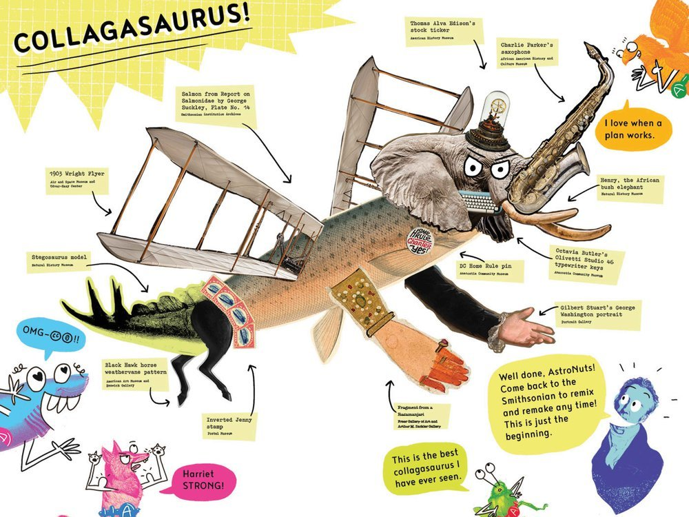 How to Make a Collagasaurus