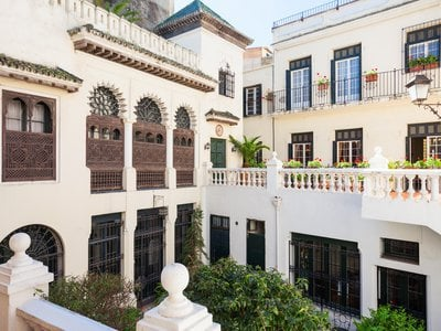Established 200 years ago, on May 17, 1821, the Tangier American Legation is a rambling mansion that spans two sides of the Rue d'Amerique in the southern corner of Tangier's old walled city.